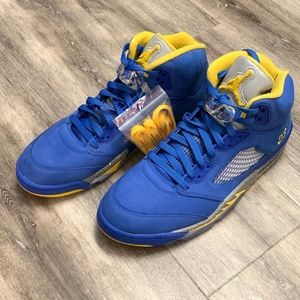 Nike Air Jordan Retro 5 Laney JSP Basketball Shoes